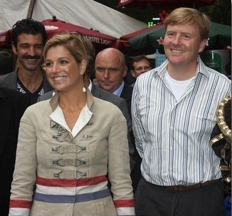 Toile de jute Dutch_Princess_Maxima.jpg